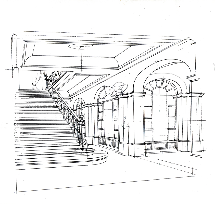 Staircase to first floor design